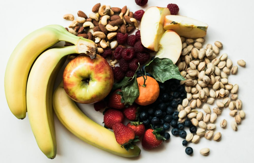 bananas, nuts magnesium based foods